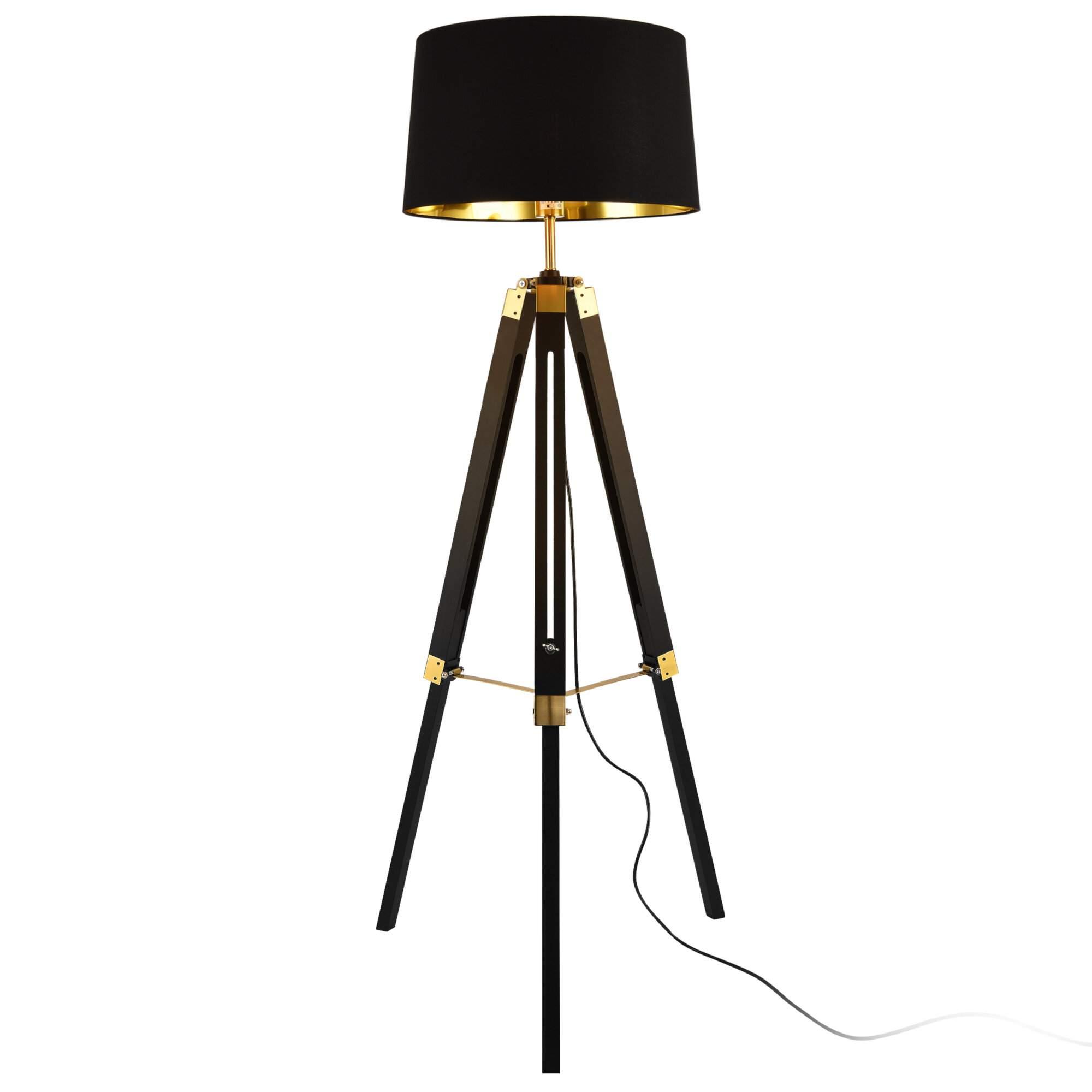 145 cm tripod stehlampe bierce