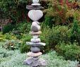 Garten Steine Deko Luxus Steinturm