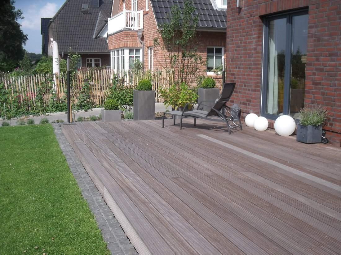 Neu Designe Garten Terrasse Holz Oder Stein