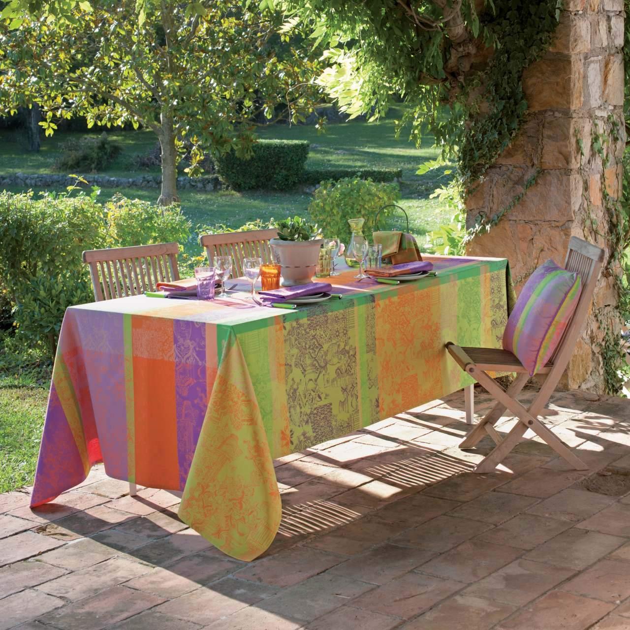 abwaschbare tischdecke mille patios provence