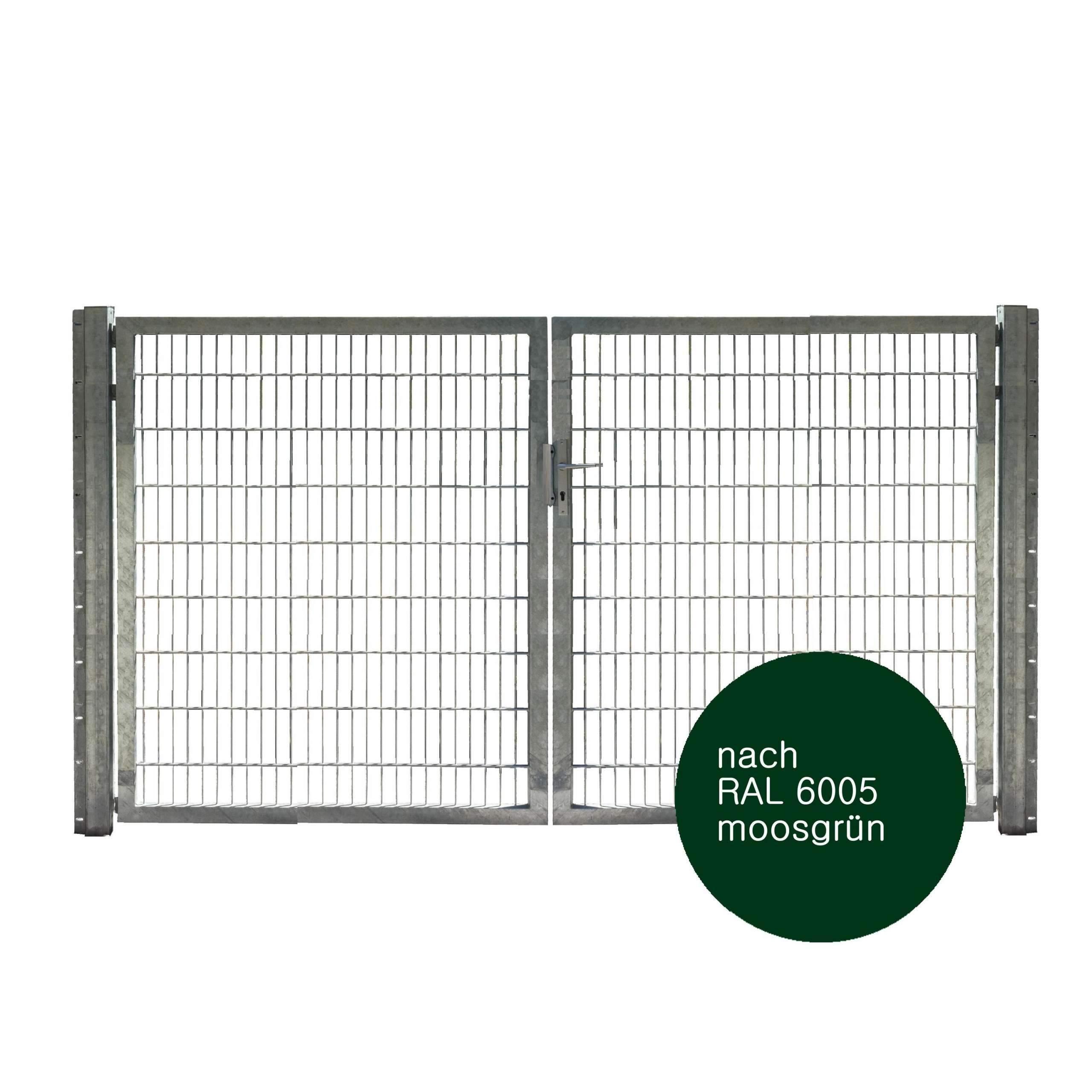 Toranlage 2 fluegelig Industrie IGT Vario gruen 3000x1800 1280x1280 2x