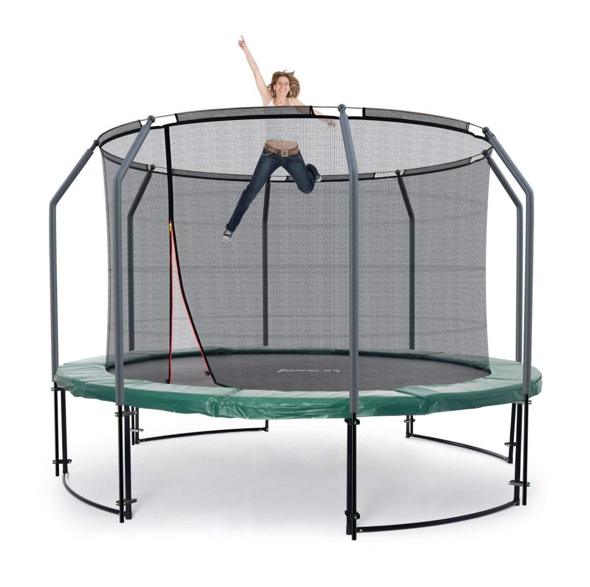 Deluxe Trampolin M Netz innen 305 cm bis 150 kg 1