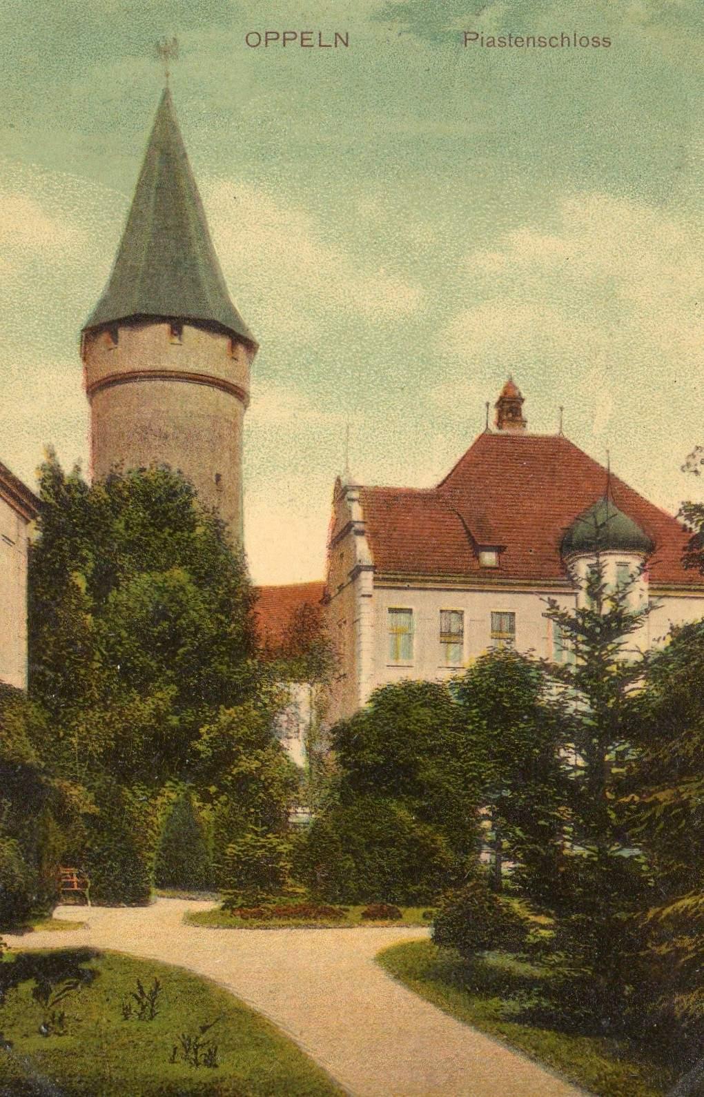 Piastenschloss Garten