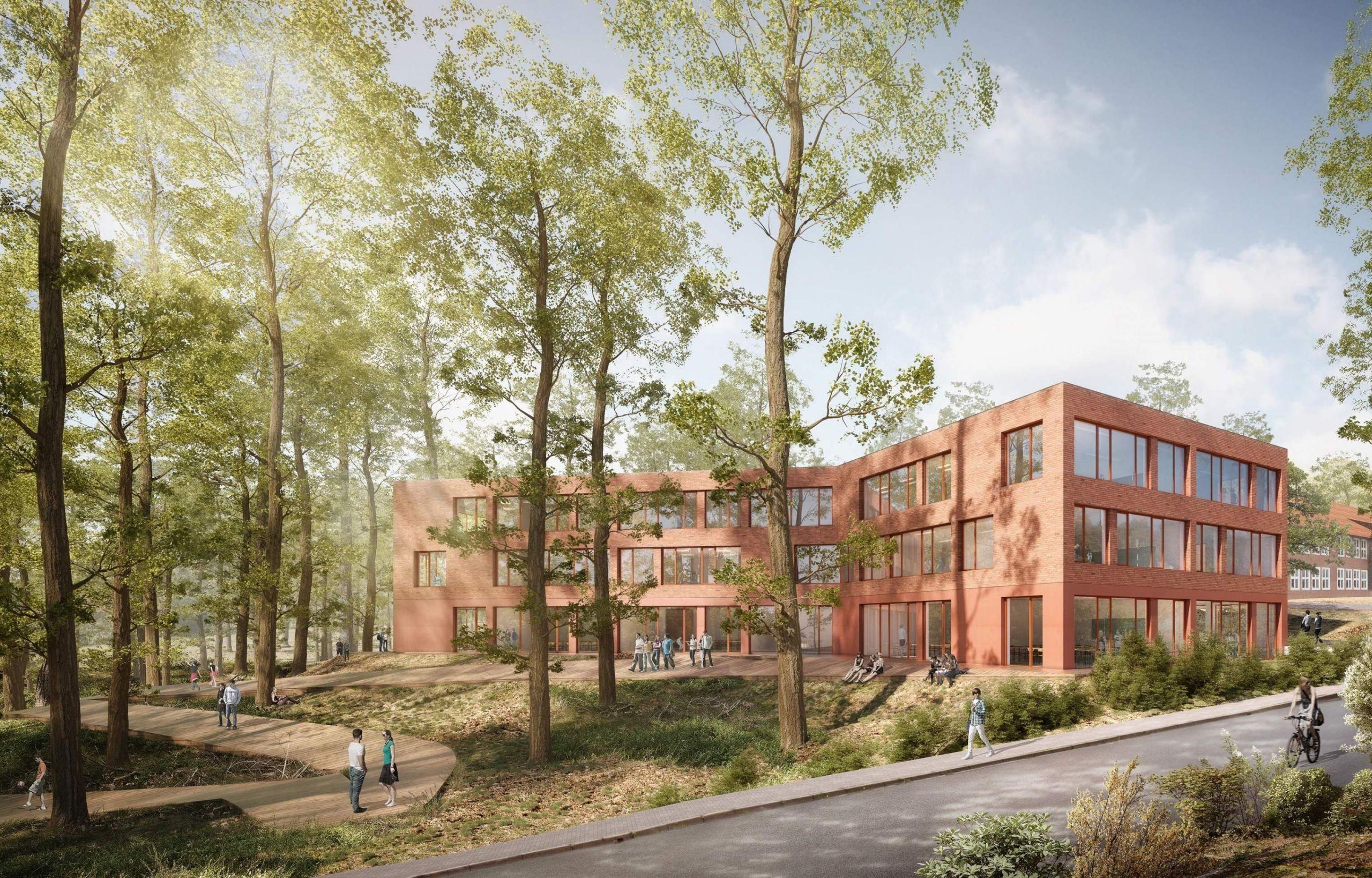 erweiterung der waldschule buchholz 2017 studioh2k architekten in bremen architekten in bremen