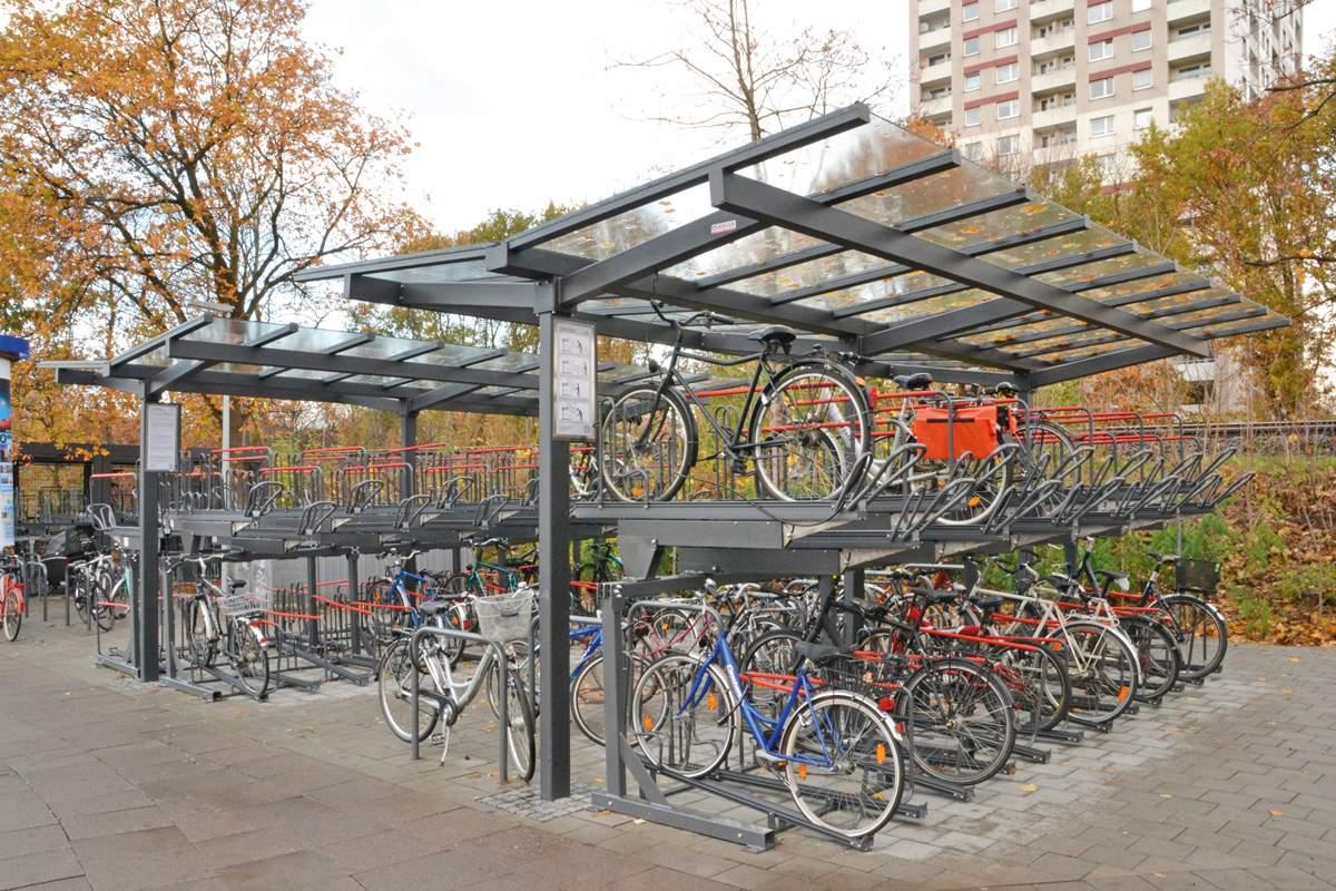 Hamburg Fahrradabstellplatz mehrstoeckig 1200x800