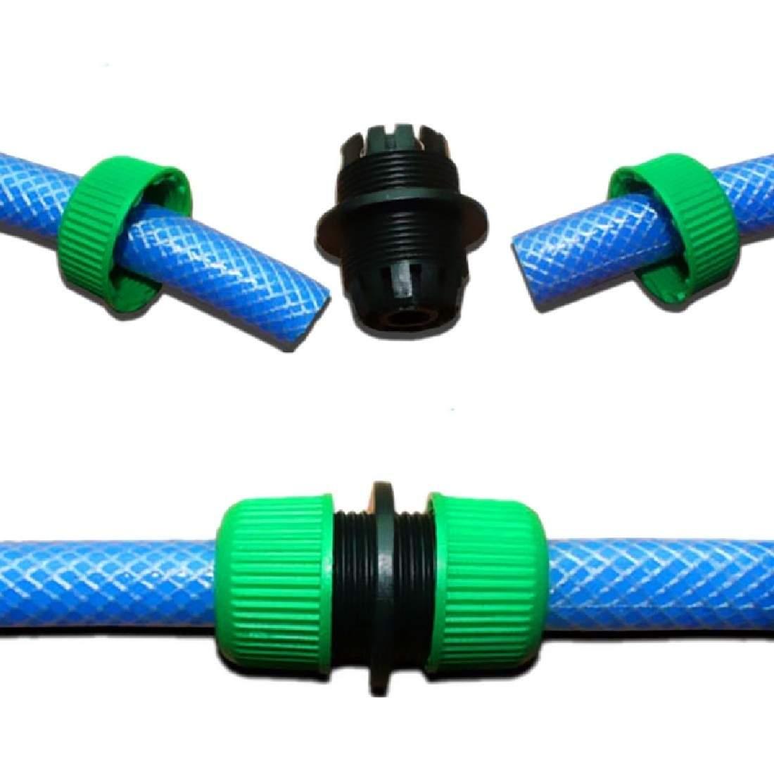 1 2 garten Wasserschlauchanschluss Rohr Schnellkupplungen Beitritt Mender Reparatur Undichten Joiner Stecker adapter