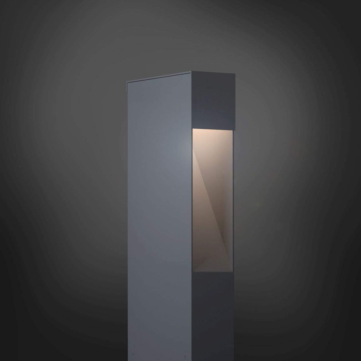 Leuchte Design Aussenleuchte Lampe Medium Focus Grau 1