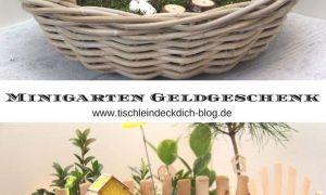 39 Schön Geldgeschenk Garten Basteln Elegant