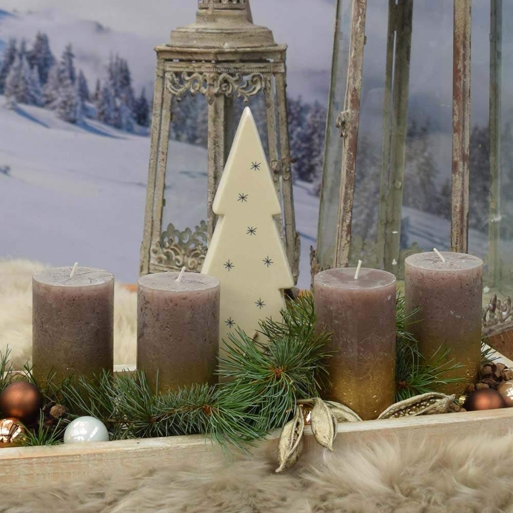 Deko Set St Moritz Tablett laenglich Baum Kugelmix s14 1000x1000