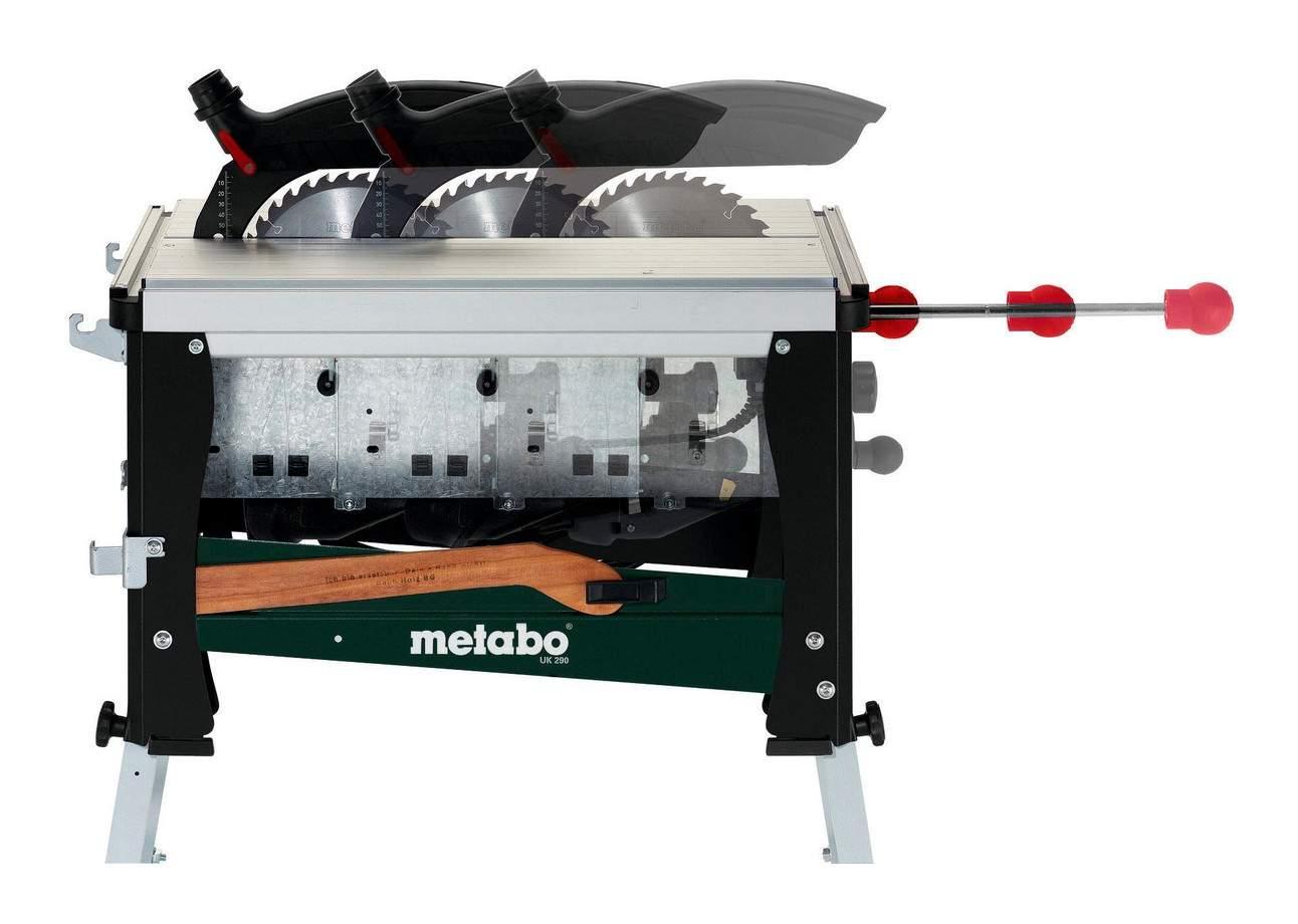 Metabo 2017 Detailfoto UK 290 Unterflurzugkreissaege