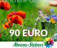 Gutschein Garten Reizend Geschenk Gutschein Wert 90 Euro sommerfreude