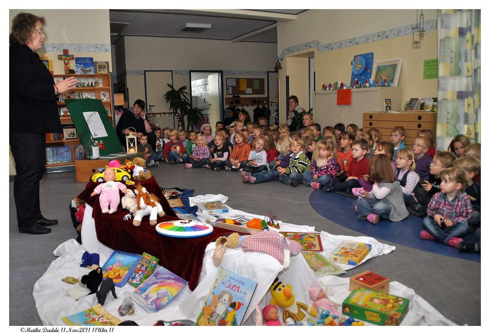 Martinstag im Kindergarten