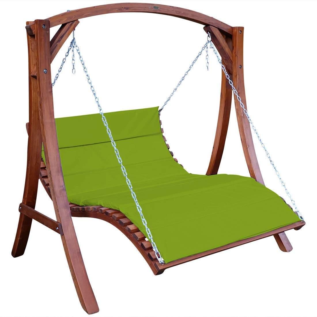 Hängesessel Garten Das Beste Von ass Design Hollywoodliege Hollywoodschaukel Aruba Od Aus Holz Lärche Ohne Dach Von Farbe Grün