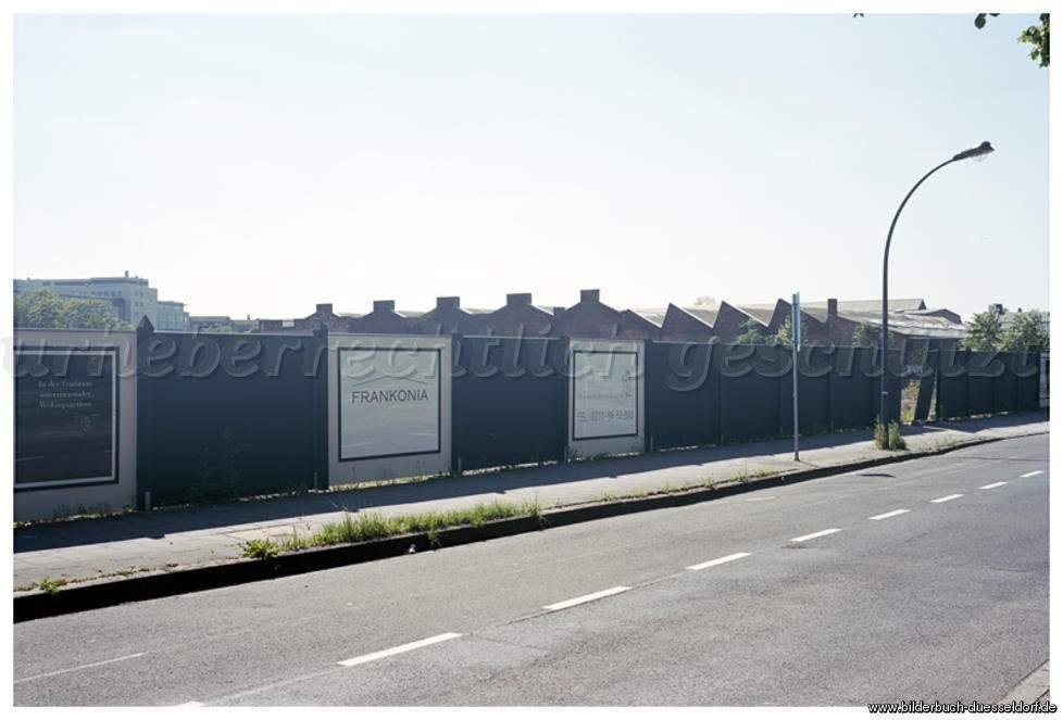heerdt heinrich heine gärten 1 hansaallee bauareal bauzaun frankonia gated munity 2011