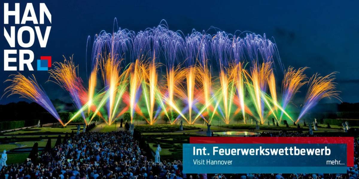 Feuerwerk aus nie gesehenen Perspektiven