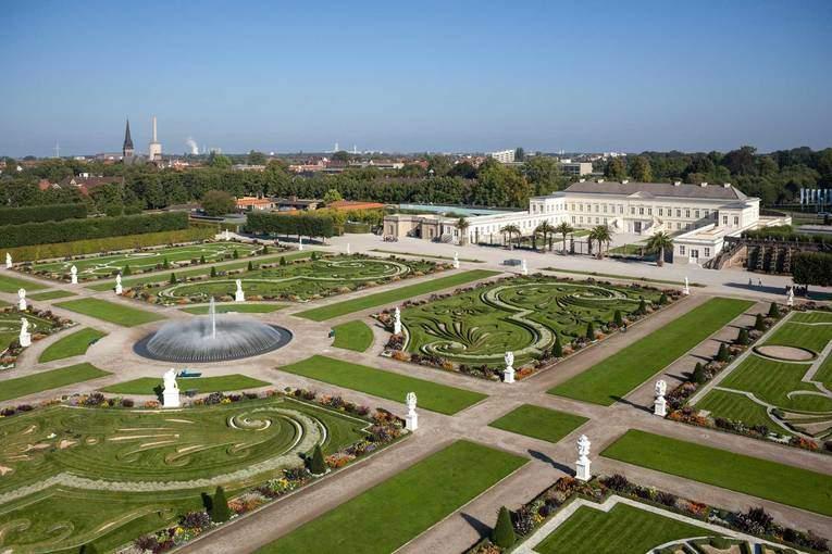 Luftaufnahme Großer Garten