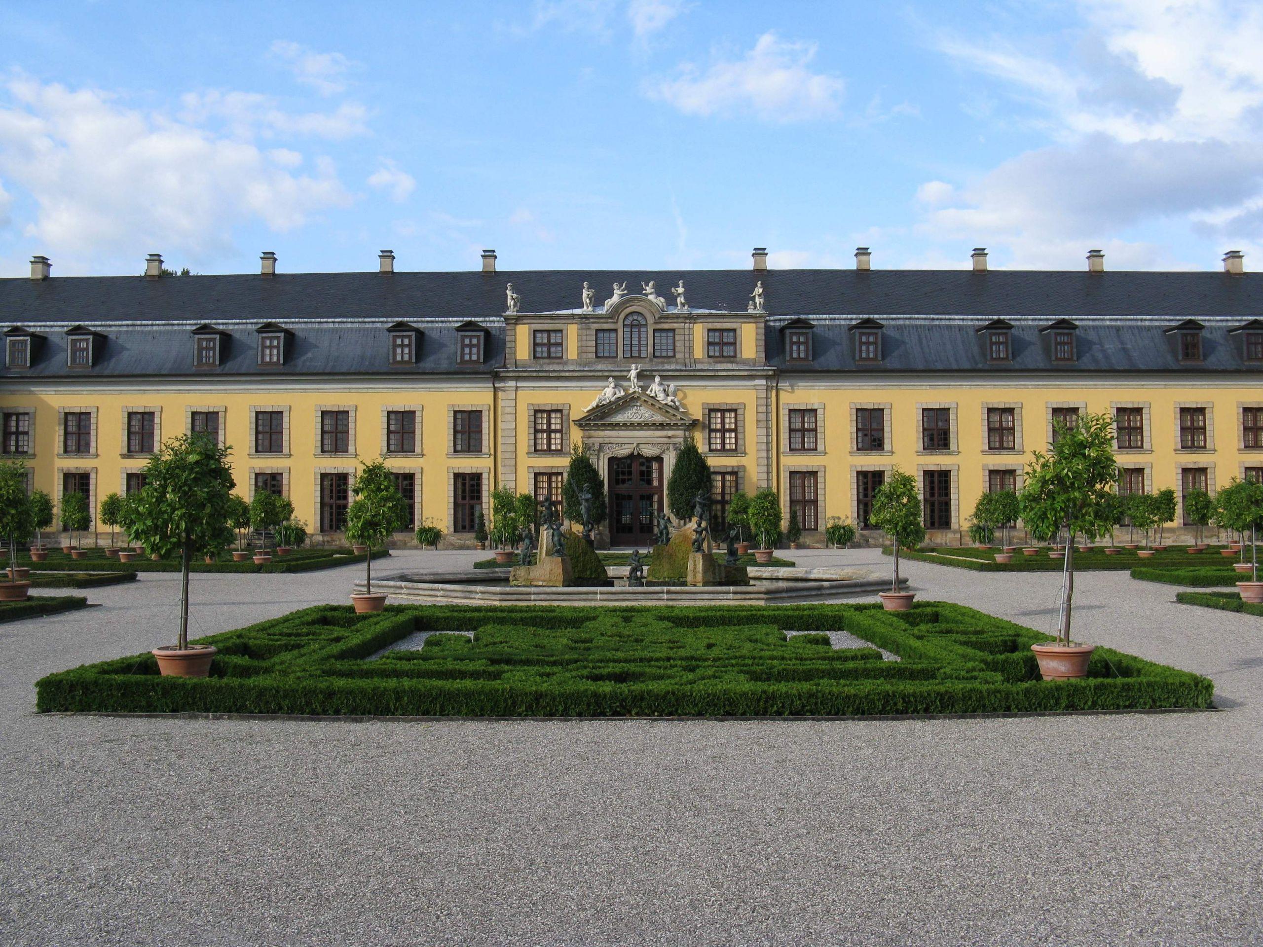 Datei Hannover Herrenhausen Großer Garten Galeriegebäude 1 JPG