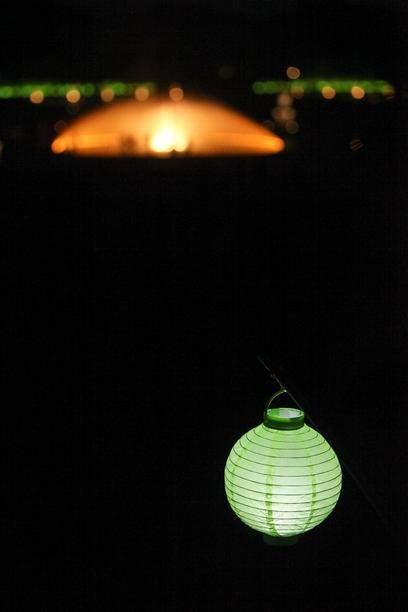 Die Herrenhaeuser Gaerten leuchten