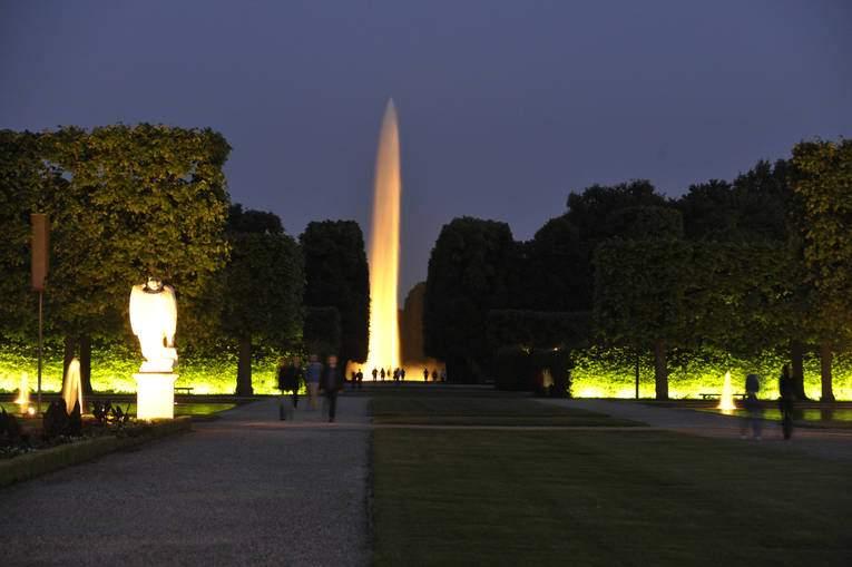 Illumination Fontaine