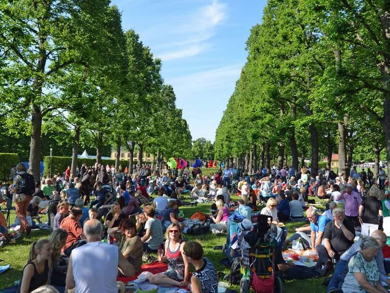 2015 Kleines Fest Herrenhausen Picknick vorab
