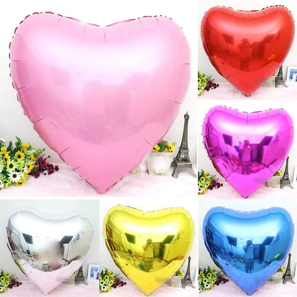 10 teil satz aluminium ballons 10 hochzeit
