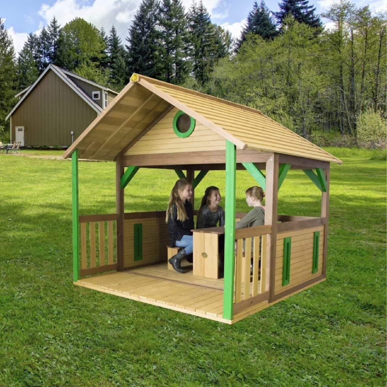 Holz Pavillon Garten Schön Spielhaus Zazou Pavillon Holz Kinderspielhaus