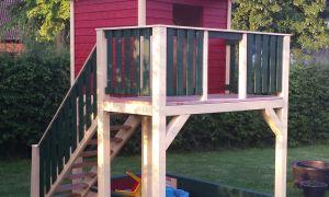 28 Inspirierend Holz Spielhaus Garten Reizend