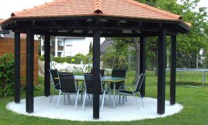 25 Frisch Holzpavillon Garten Inspirierend