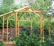 Holzpavillon Garten Schön Teehaus Pavillion Achteckig Halb Offen Bauanleitung Zum