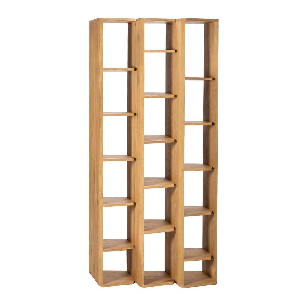 ethnicraft regal stairs buecherregal massivholz eiche 074 01 07 0129 12