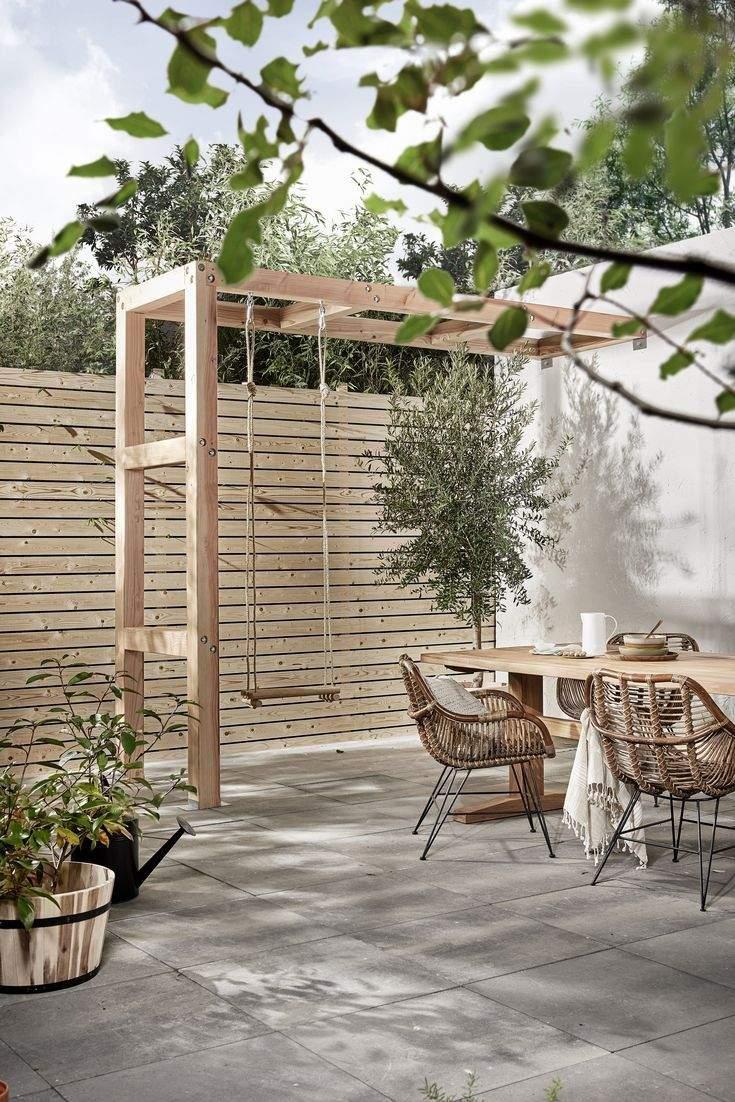 Holzschaukel Garten Das Beste Von Schaukel Auf Der Terasse