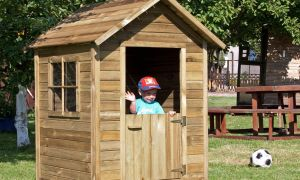 25 Das Beste Von Holzspielhaus Garten Luxus