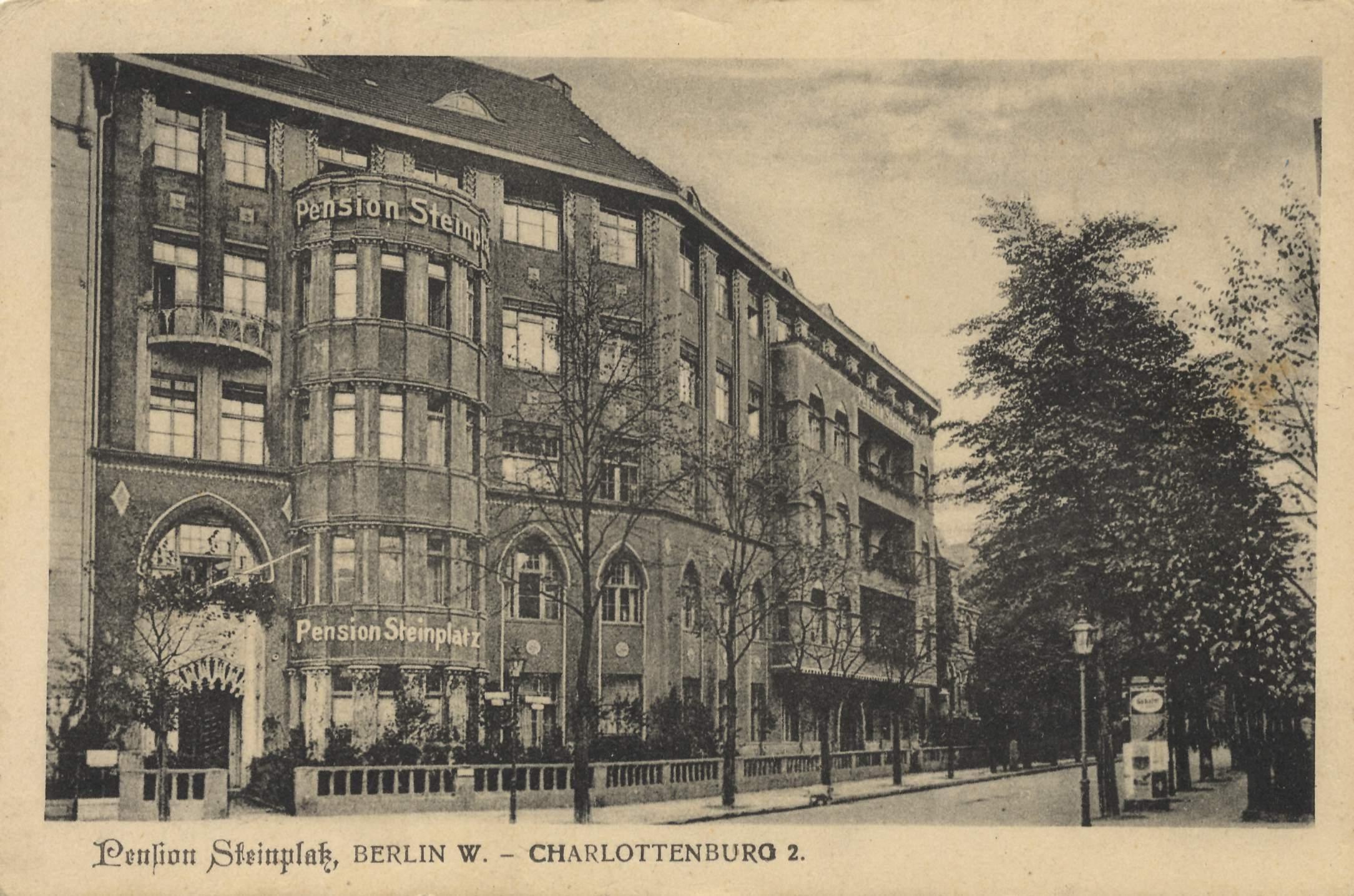 Berlin Charlottenburg Postkarte 084