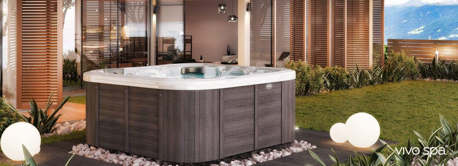 jacuzzi garten frisch vivo spa outdoor whirlpools whirlpool center of jacuzzi garten