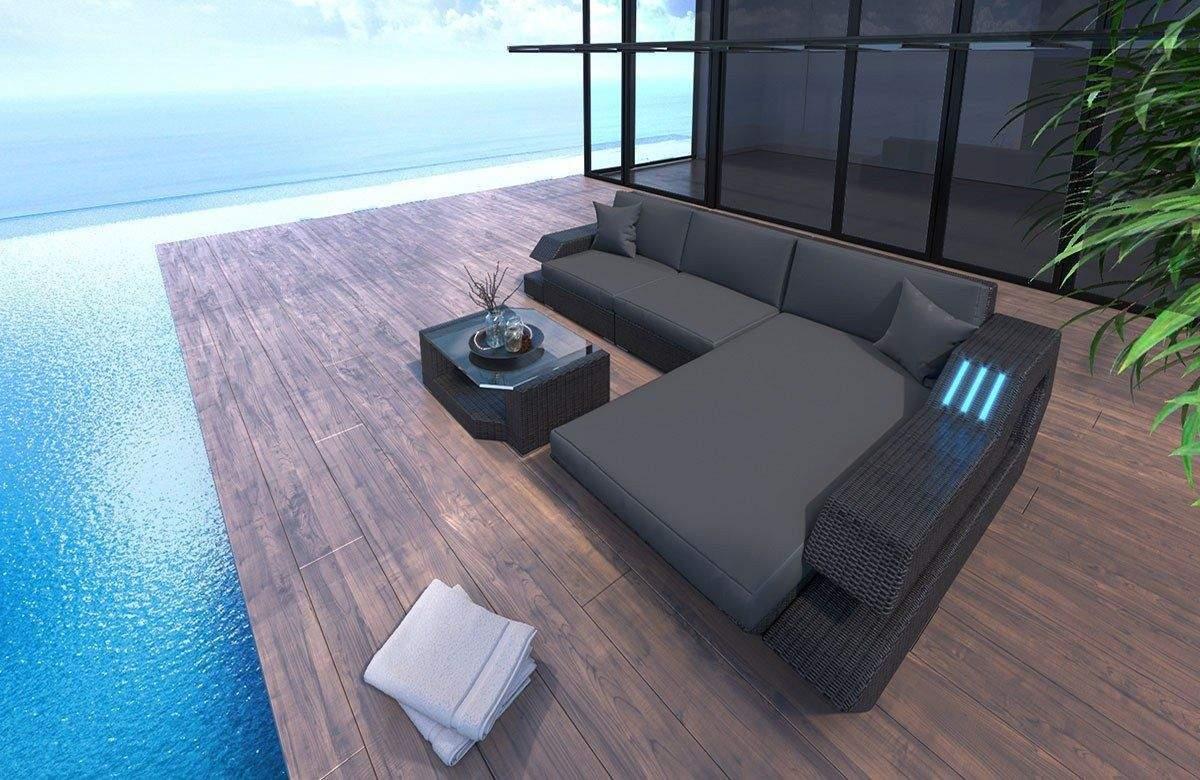lounge ecksofa garten genial rattan sofa ravenna l of lounge ecksofa garten