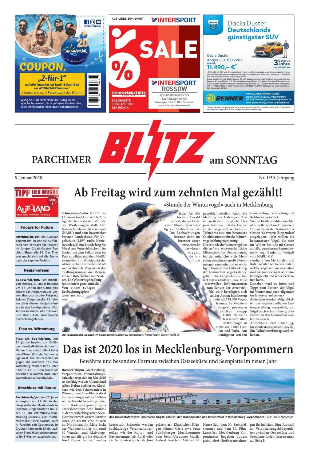 Hühner Im Garten Genial Parchimer Blitz Vom 05 01 2020 by Blitzverlag issuu