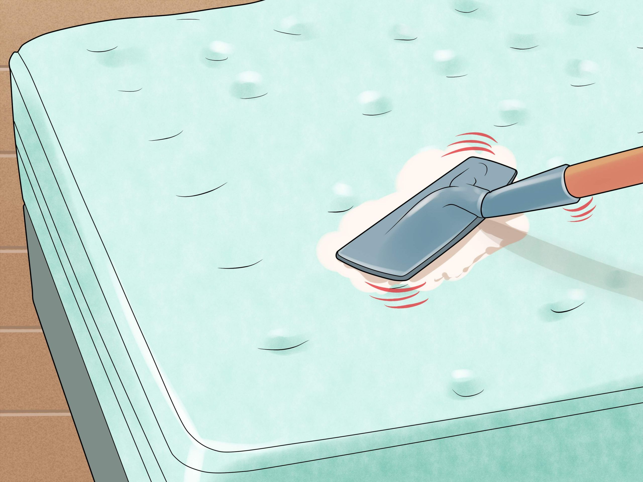 Remove Urine Stains from a Mattress Step 12