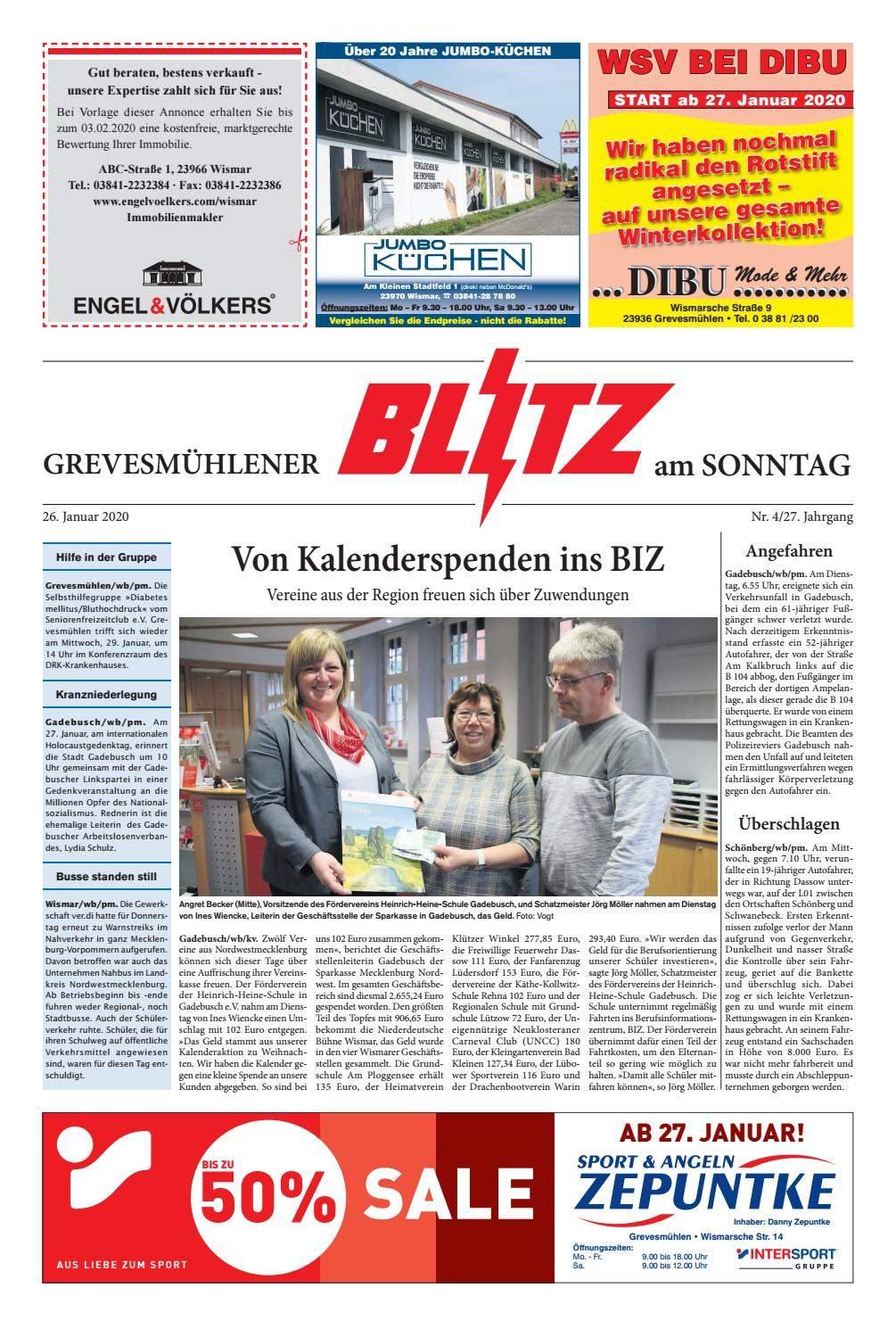 In Seiner Frühen Kindheit Ein Garten Inspirierend Grevesmühlener Blitz Vom 26 01 2020 by Blitzverlag issuu