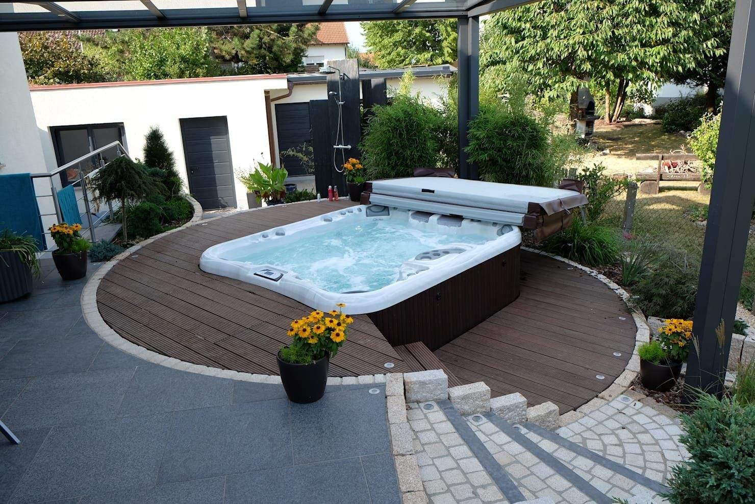 Jacuzzi Garten Reizend 22 Mini Pools Sich Fantastisch In Deinem Garten Machen