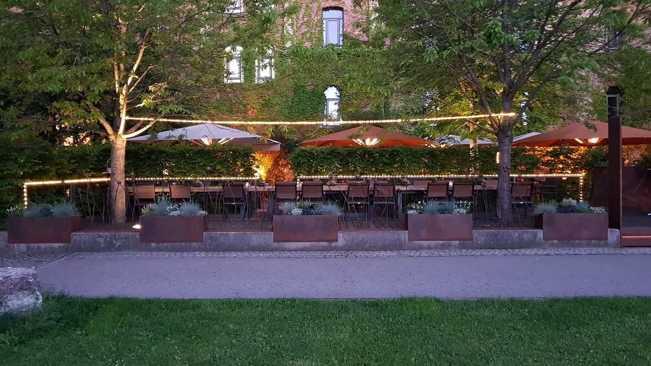 wunderschone terrasse
