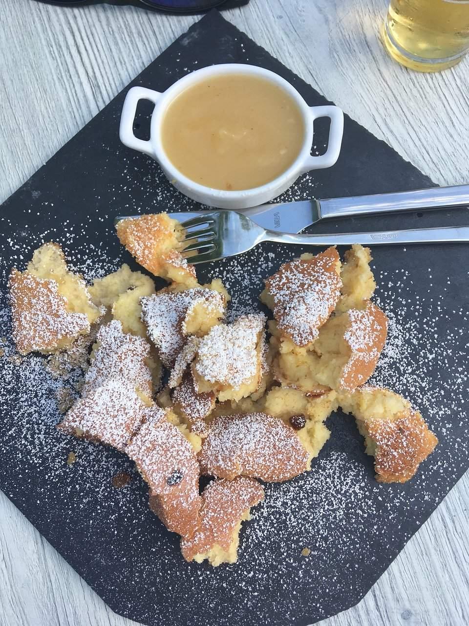 kaiserschmarrn dessertportion
