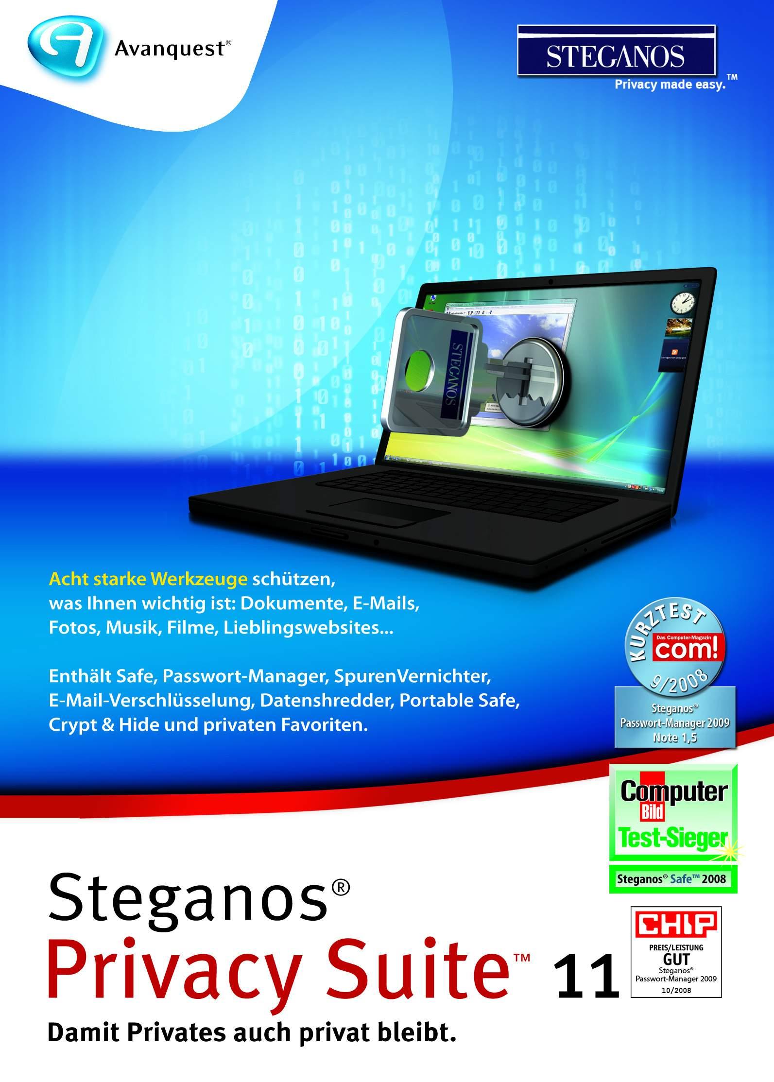 Steganos Privacy Suite 11