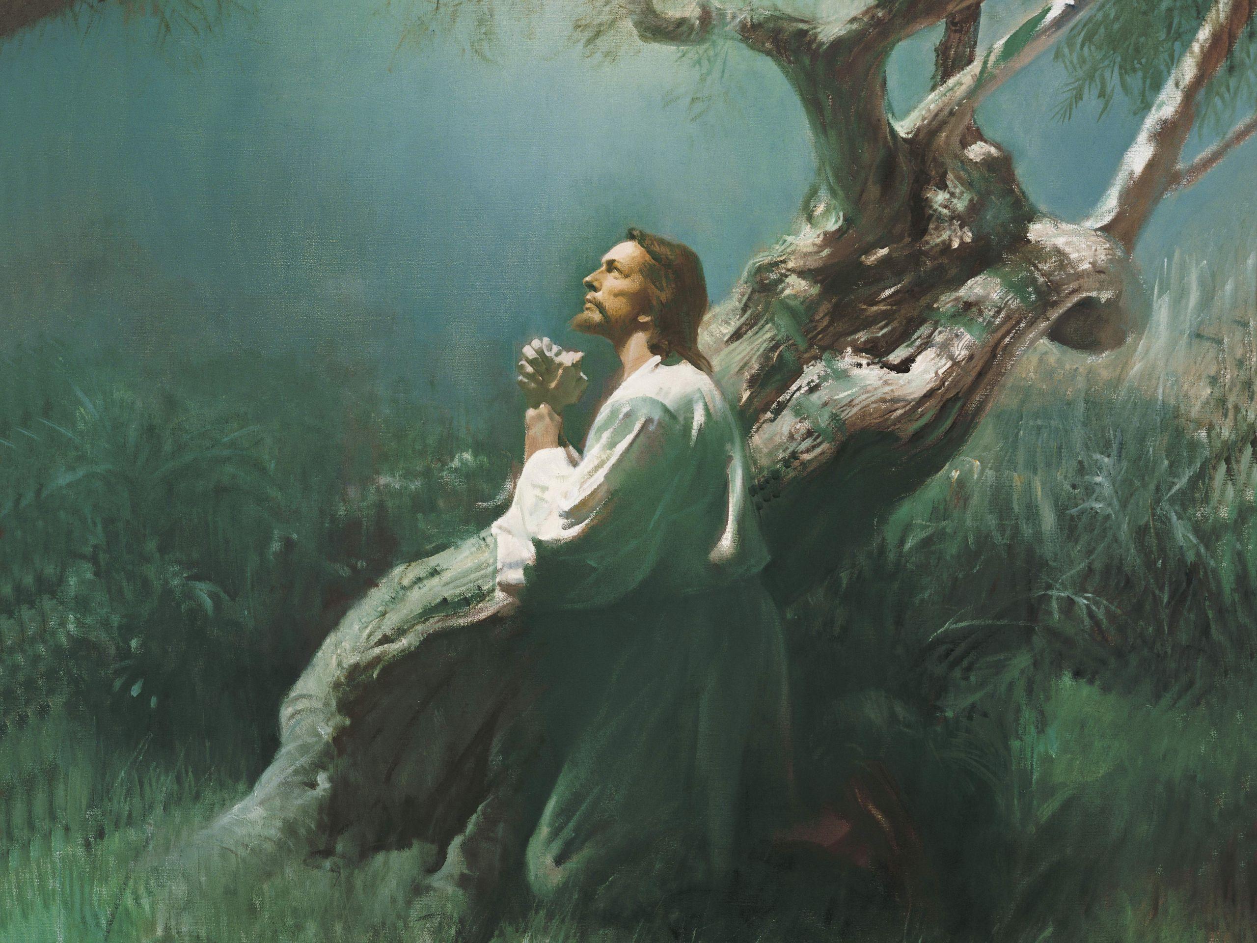 jesus praying in hsemane