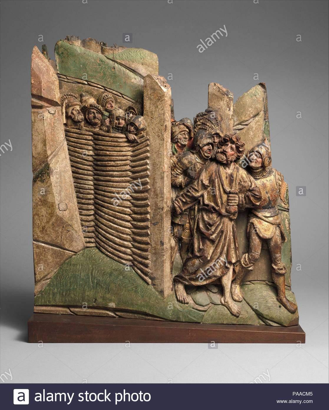 judas in den garten von hsemane zu verraten christus kultur deutsche oder suden niederlandischen abmessungen insgesamt 19 1116 x 18 38 x 1 1516 in 50 x 467 x 5 cm datum 15 museum metropolitan museum of art new york usa paacm5
