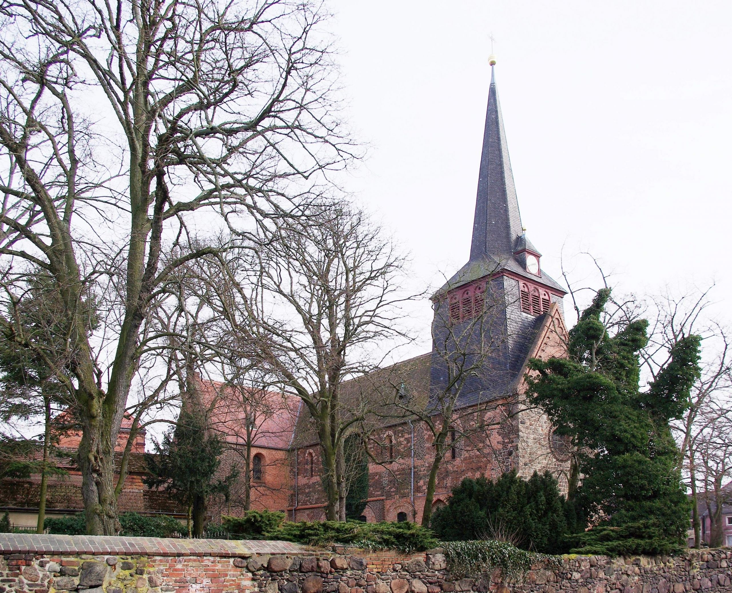 Liebfrauenkirche Jüterbog Schlossstrasse 2