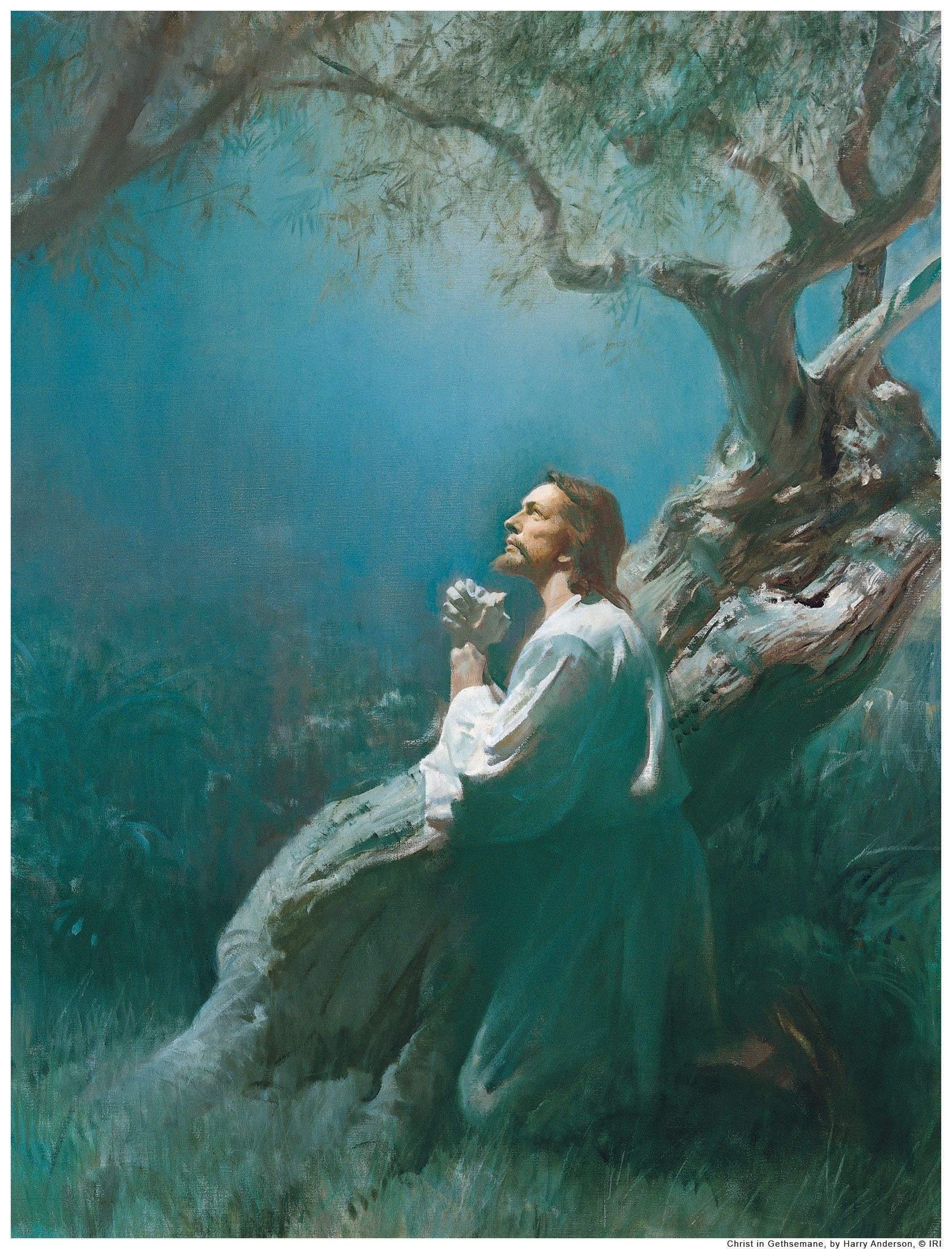 Jesus Im Garten Gethsemane Reizend Jesus In Gethsemane Lds