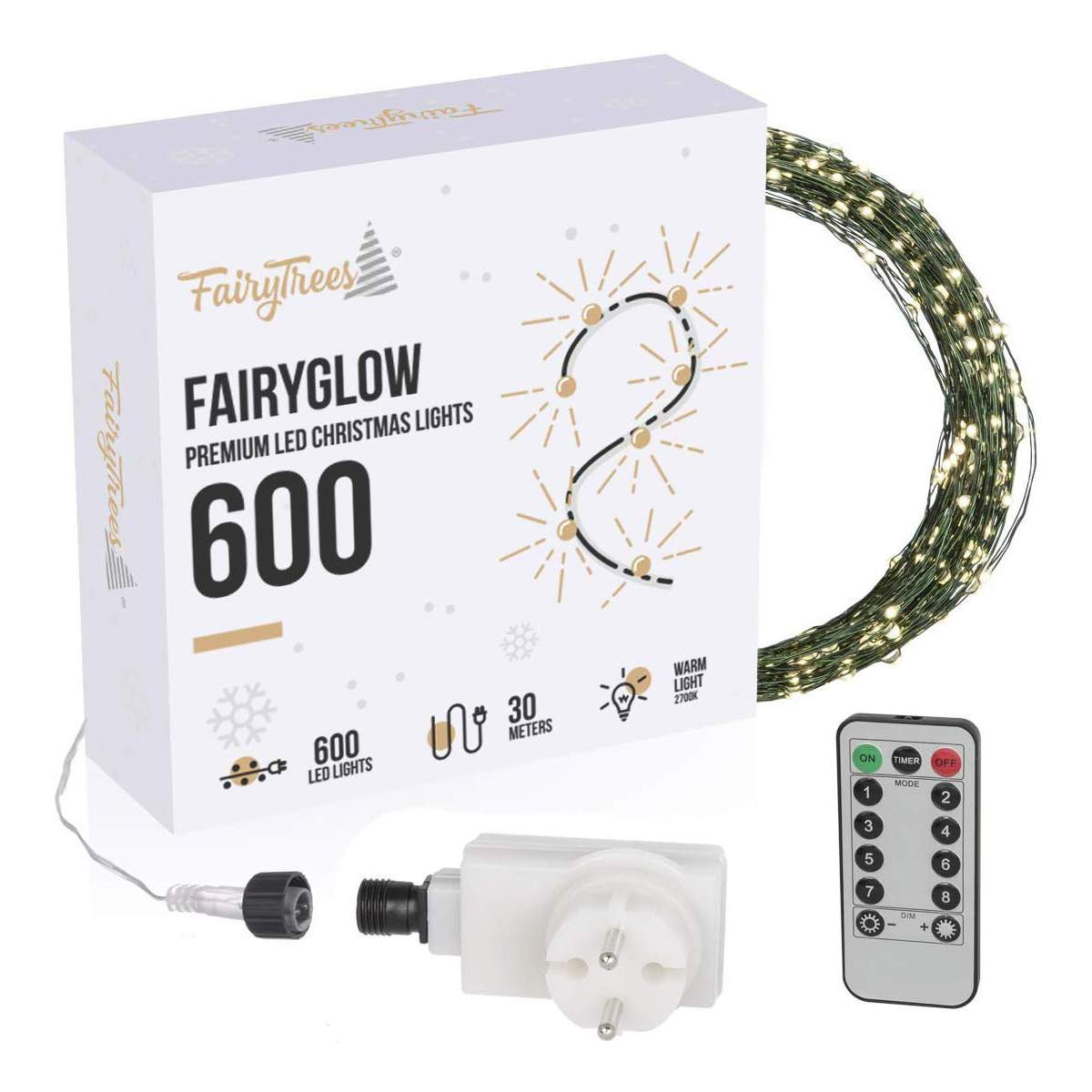 lichterkette fairyglow 600 fairytrees