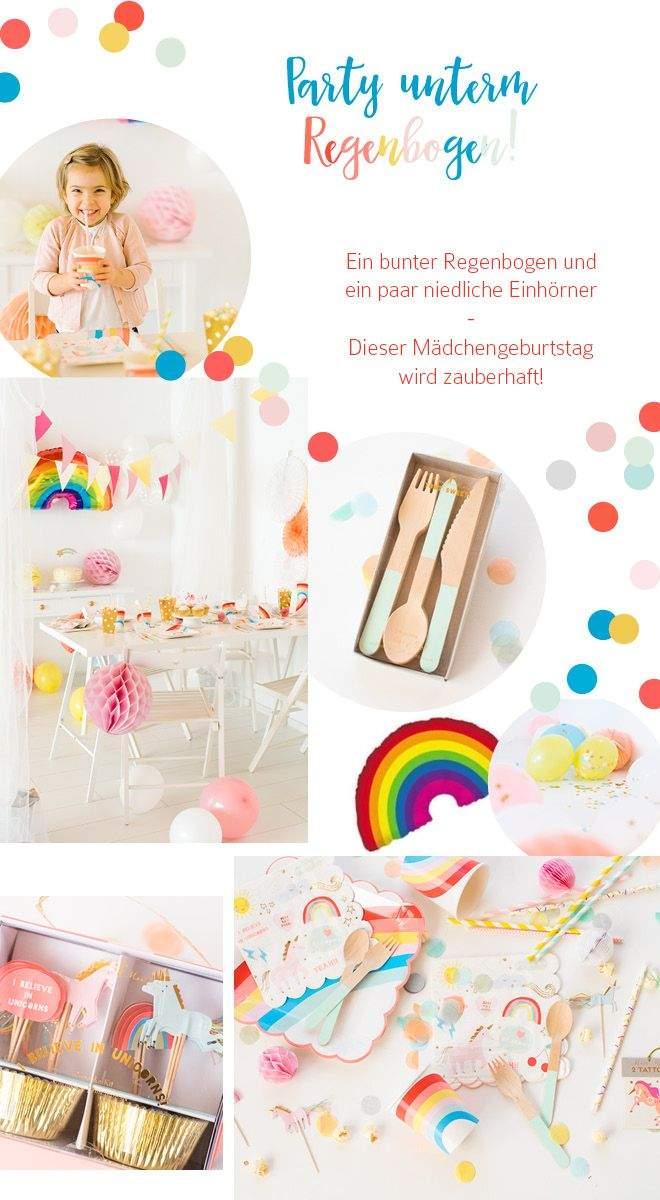Kindergeburtstag Im Garten Einzigartig Kindergeburtstag Einhorn Party Unterm Regenbogen