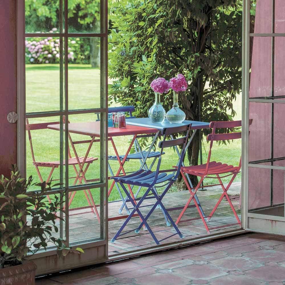 garten klappstuhl metallstuhl balkonmoebel gartenmoebel emu 099 01 01 0008 01