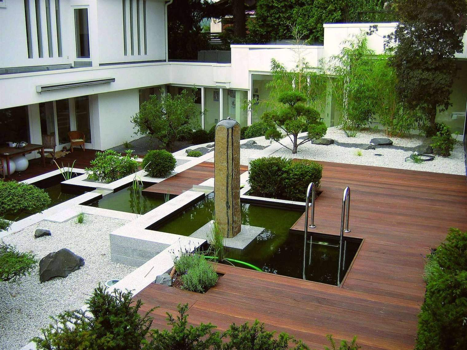 Kleine Gärten Gestalten Schön Kleine Gärten Gestalten Reihenhaus — Temobardz Home Blog